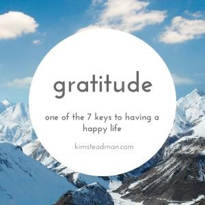 gratitude a key to a happy life