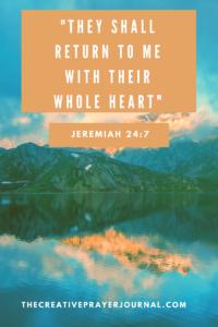 Prayer Journal Meet With God - Creative Prayer Journal Template