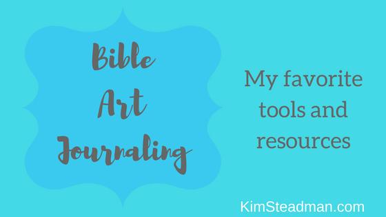Bible Art Journaling Ideas